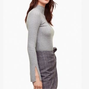Aritzia mock neck sweater